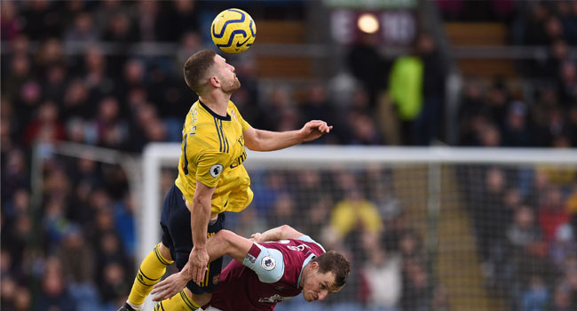 Burnley Hold Arsenal To Goalless Draw