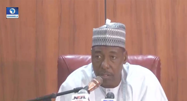 100,000 More Soldiers Needed To Fight Insurgency, Says Borno Governor