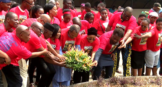 Activists Pay Tribute To Beko Ransome-Kuti, 14 Years After