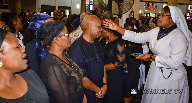 Nigerian Catholics Mark Ash Wednesday Wearing Black To Protest Against Insecurity