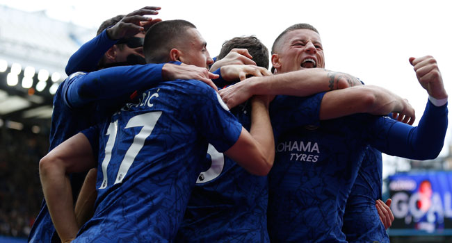 Chelsea Beat Tottenham In Top Four Chase