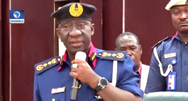 Accidental Discharge: NSCDC Boss Direct Officers To Maintain Distance At Public Functions