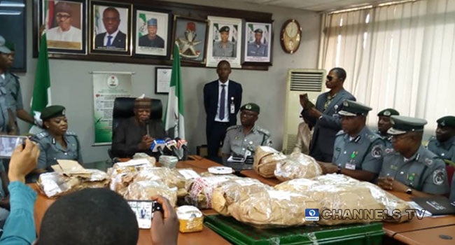 Nigeria Customs Intercept $8m, Arrest Airport Staff In Lagos