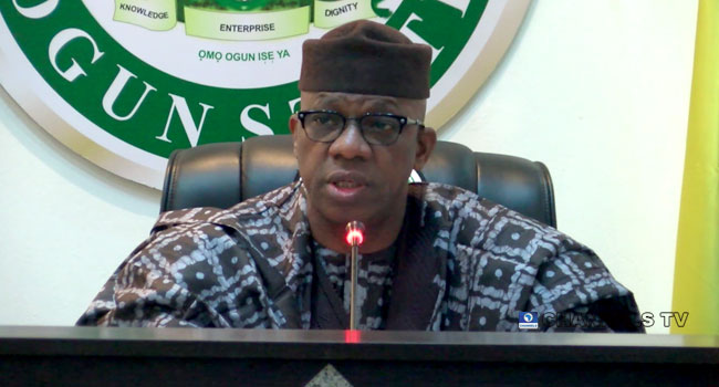 #SARSMUSTEND: Youths Have Been Taken For Granted In The Past, Says Gov Abiodun