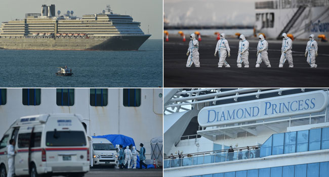 44 More COVID-19 Cases On Japan Ship