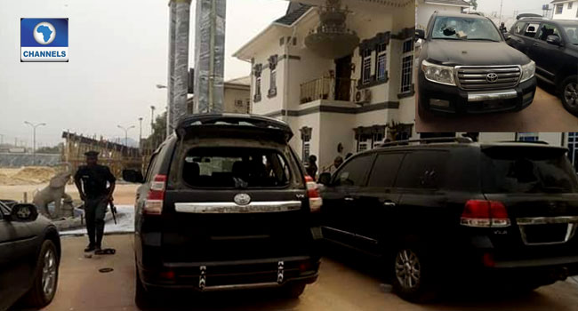 Bayelsa Election: Angry Protesters Attack Dickson's Private Home