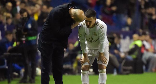 Real Madrid's Hazard To Miss Man City Clash Over Injury
