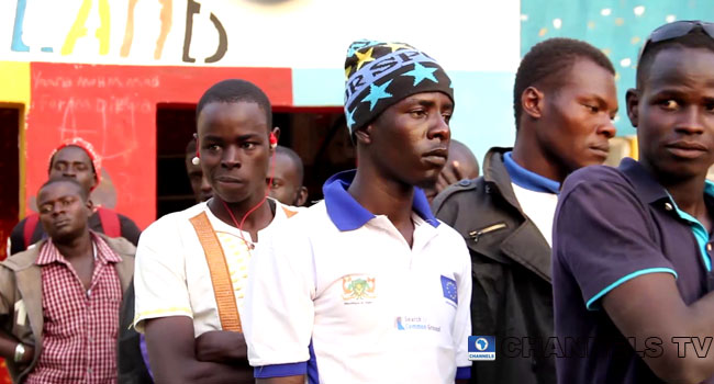 PHOTOS: 25 Ex-Boko Haram Fighters Return To Nigeria From Niger