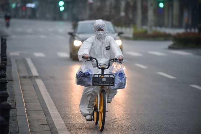 Wuhan reports no new cases of coronavirus for first time since outbreak