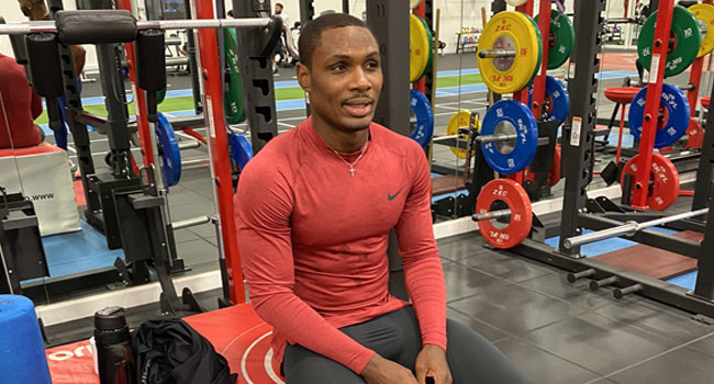Nigerian Star Ighalo Eager To Extend Man United Deal
