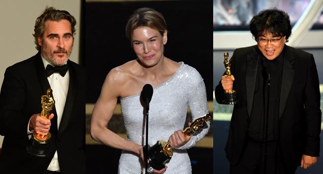 Oscar Winners In Main Categories