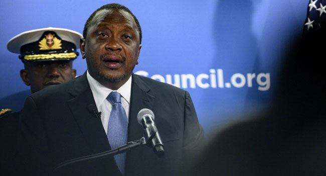 Kenya Leader Warns Against US, China Rivalry In Africa