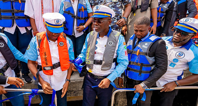 Okada Ban: Sanwo-Olu Launches Ferries To Ease Transportation