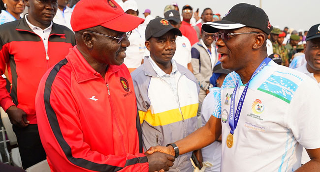 PHOTOS: Sanwo-Olu, Buratai, Others Attend Lagos City Marathon