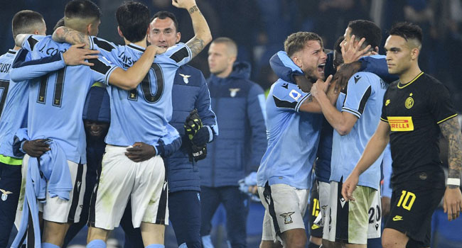 Lazio Topple Inter To Go Second Behind Juventus