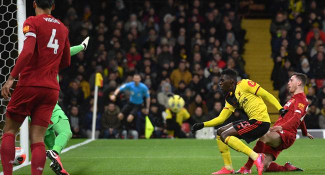 UPDATED: Relegation-Threatened Watford End Liverpool's Unbeaten Run
