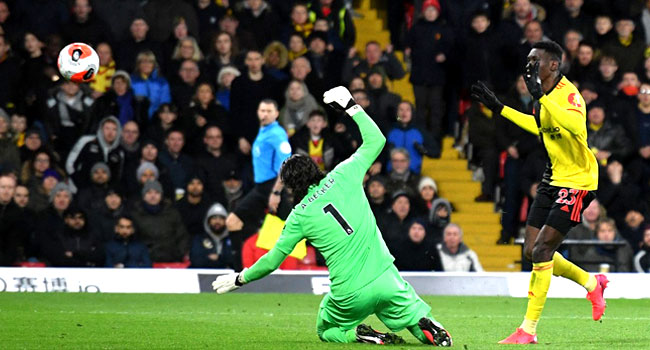 PHOTOS: Watford's Moments In 3-0 Triumph Over Liverpool