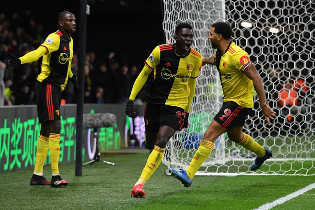 African Players In Europe: Sarr Sparkles As Watford Stun Liverpool