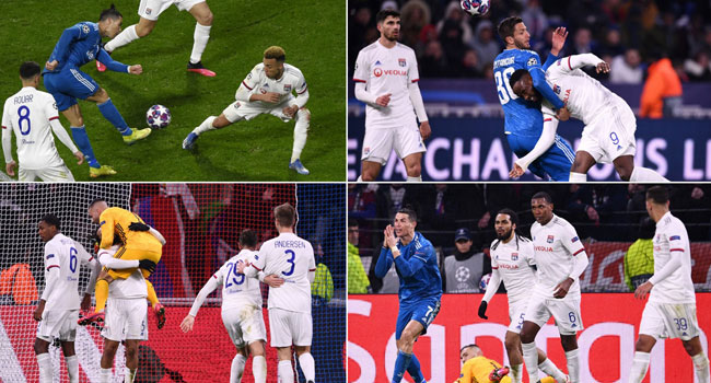 Lyon Down Juventus In Champions League Last 16, First Leg