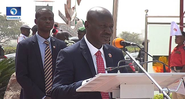 FULL VIDEO: I Strongly Believe Coronavirus Is Caused By Corruption – Magu