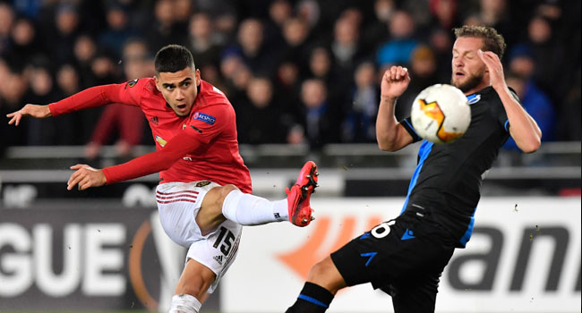 Europa League: Man United Held To A Draw At Brugge
