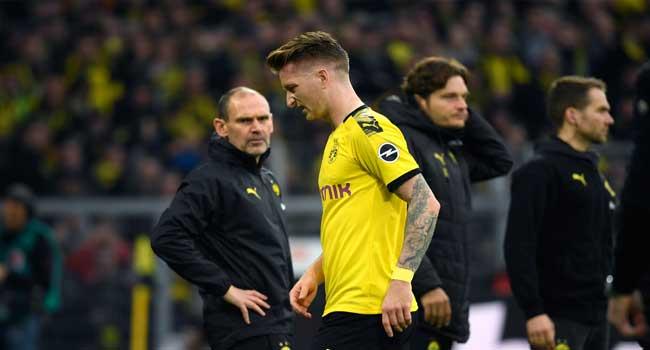Injured Reus To Miss Dortmund, PSG Champions League Match