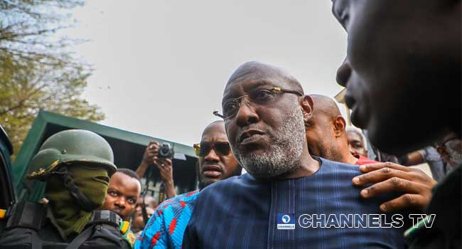 PHOTOS: Four-Year Trial Ends As Metuh Begins Jail Term