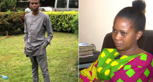 Please Bring Back My Son, Mother Of Man Who Allegedly Jumped Into Lagoon Begs