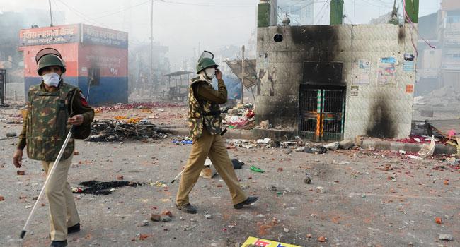 Policeman Killed In Delhi Clash Ahead Of Trump's Arrival