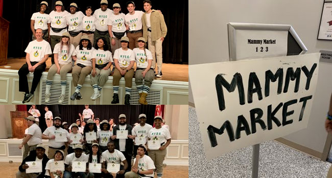 TRENDING: Nigerian Students In US 'Recreate' NYSC Experience