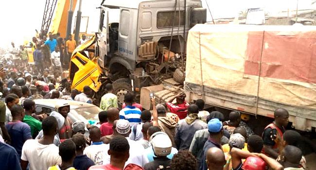 Seven Killed, 10 Injured In Ogun Highway Crash