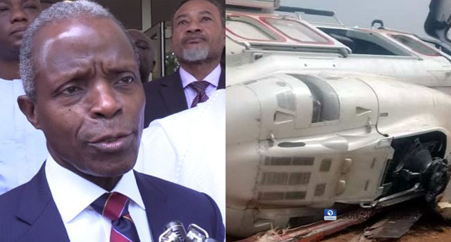 Helicopter Crash Greatly Strengthened My Faith, Says Osinbajo