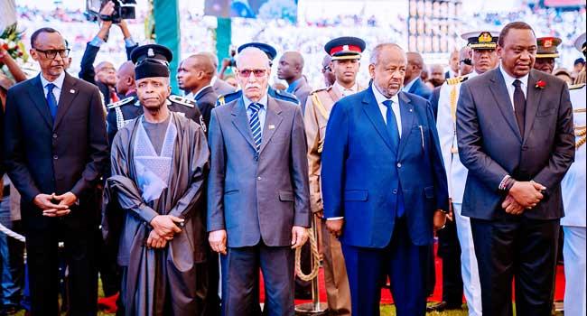 Osinbajo Represents Nigeria At Funeral Of Former Kenyan President, Daniel Arap Moi