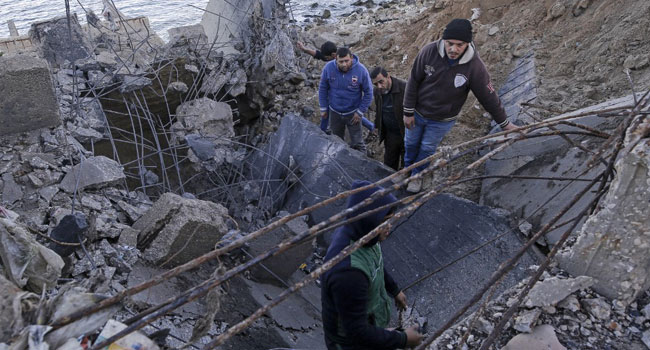 Just In: Israeli Strikes Kill 12 Pro-Iran Fighters In Syria