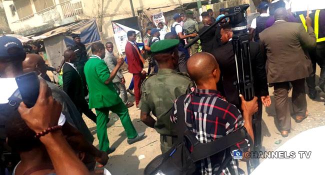 Pastor Adeboye Leads R.C.C.G Members In Walk Against Insecurity