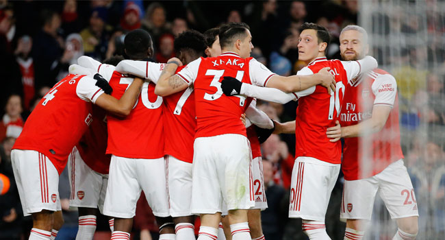 Arsenal Revival Gathers Pace As Aubameyang Downs Everton