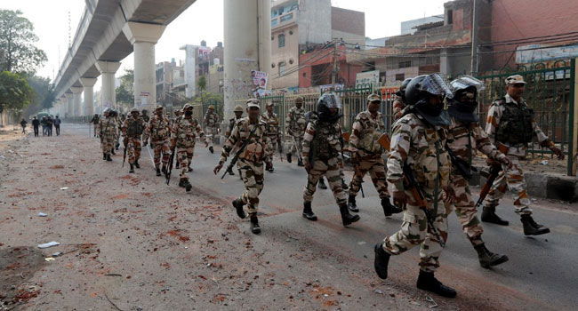 Nine Killed, Many Injured In India Capital As Trump Visits