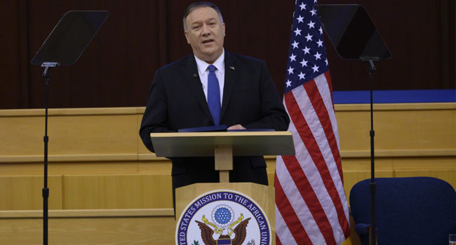 Pompeo Closes Africa Tour With Warning About China's 'Empty Promises'