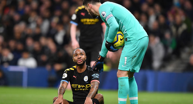 Sterling To Miss Man City Clash Against West Ham