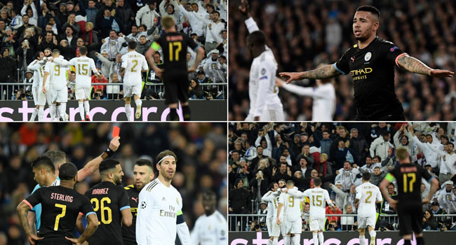 Jesus, Bruyne Give Man City Comeback Win At Real Madrid