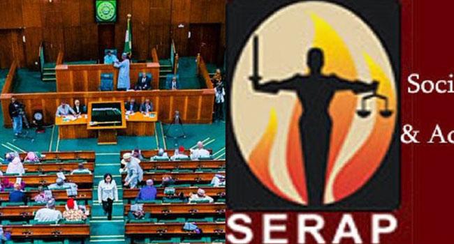 SERAP Condemns Bill Seeking Immunity For Lawmakers