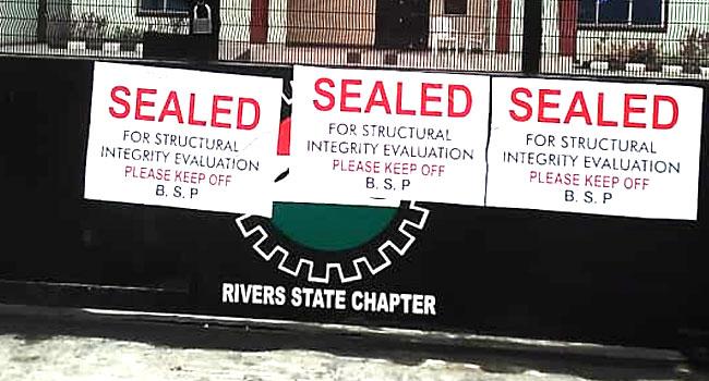 Rivers Govt Seals NLC Secretariat