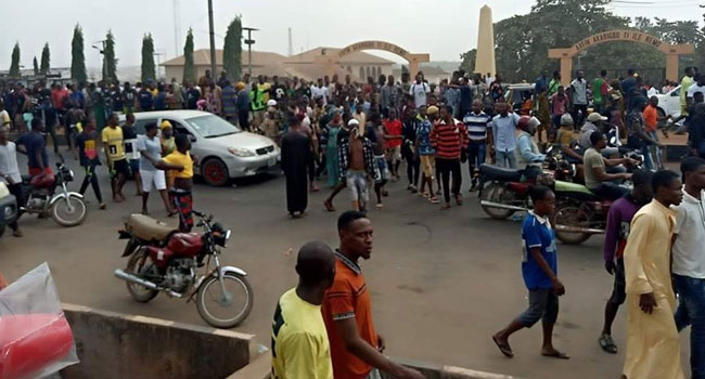 At Least One Dead As Residents Protest Death Of Remo Stars Player