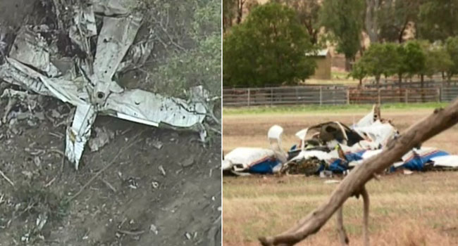 Mid-Air Plane Collision Kills Four In Australia