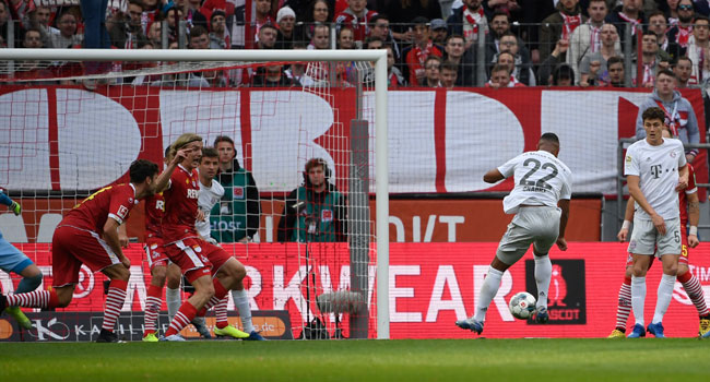 Gnabry Double Fires Bayern To Victory Against Cologne