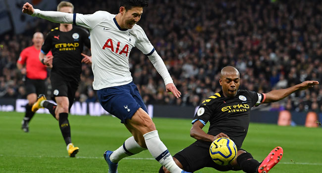 Tottenham Beat Man City In Thrilling Premier League Match