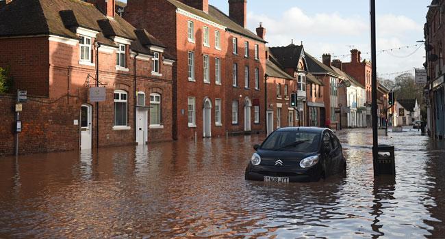 Man Dies As Storm Dennis Hits UK