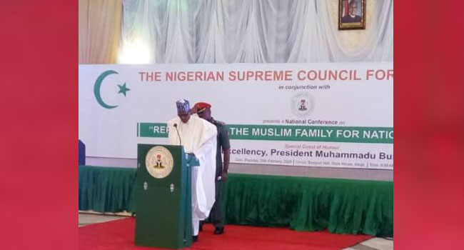 Family Is Essential For National Attitudinal Change, Says Buhari