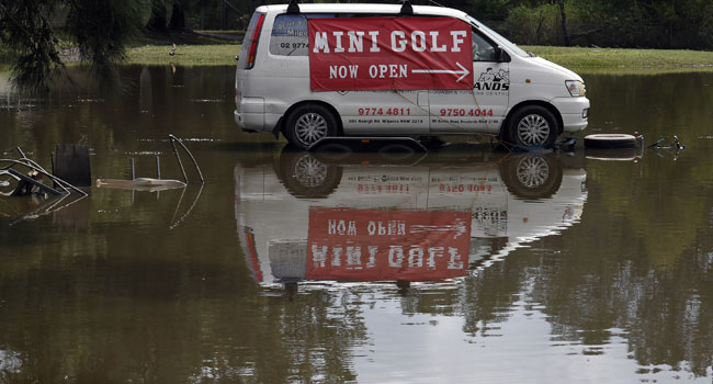 Dams Overflow As Australia Braces For More Floods