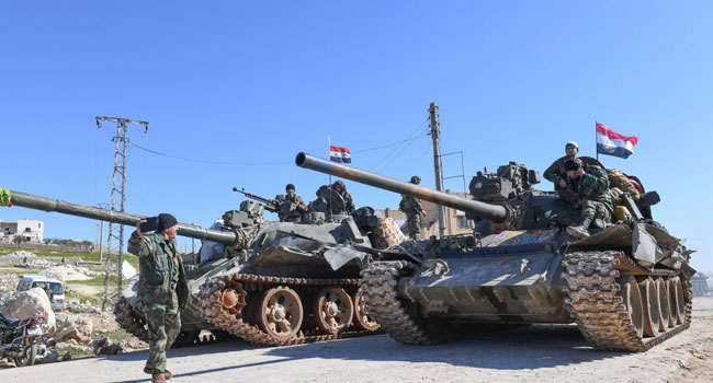 20 Civilians Dead As Syrian Govt Set To Retake Key Highway